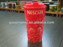 3d lenticular Plastic coffee cup audited by walmart