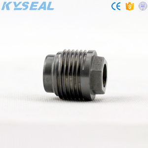 Cemented carbide oil spray nozzle for pdc drill bit