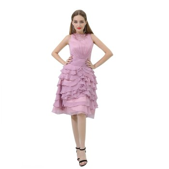 d60884805fe Girls Party Dresses for Girls of 18 Years Old Knee Length Cocktail Dresses  2018 Party Wear