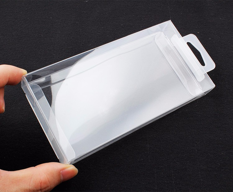 SUD Custom logo Case Transparent Retail Package Clear Blank PVC Packaging Packing Box for Mobile Phone Case
