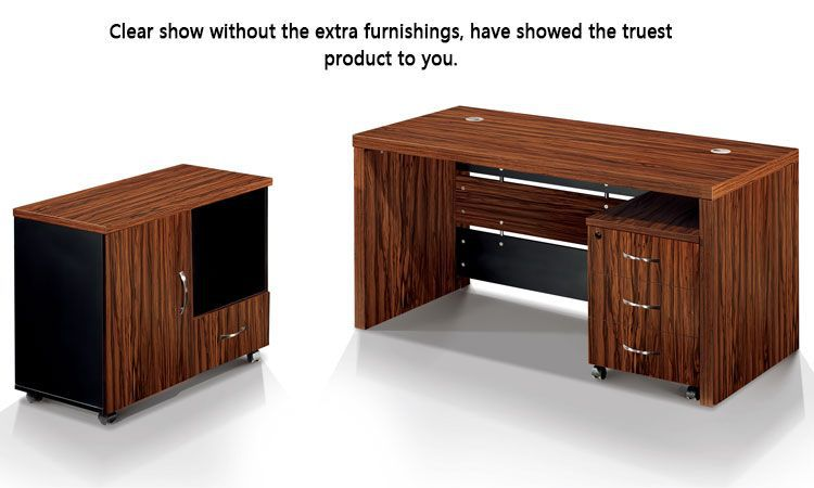 malaysia rubber wood furniture demountable computer table on wheels