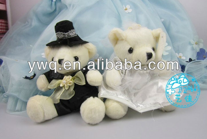 15 cm Wedding bear ,bitty baby's mini bear ,Valentine's day bear gifts /Plush teddy bear