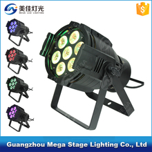 best selling hot chinese products 7x10W 4in1 rgbw led mini par can