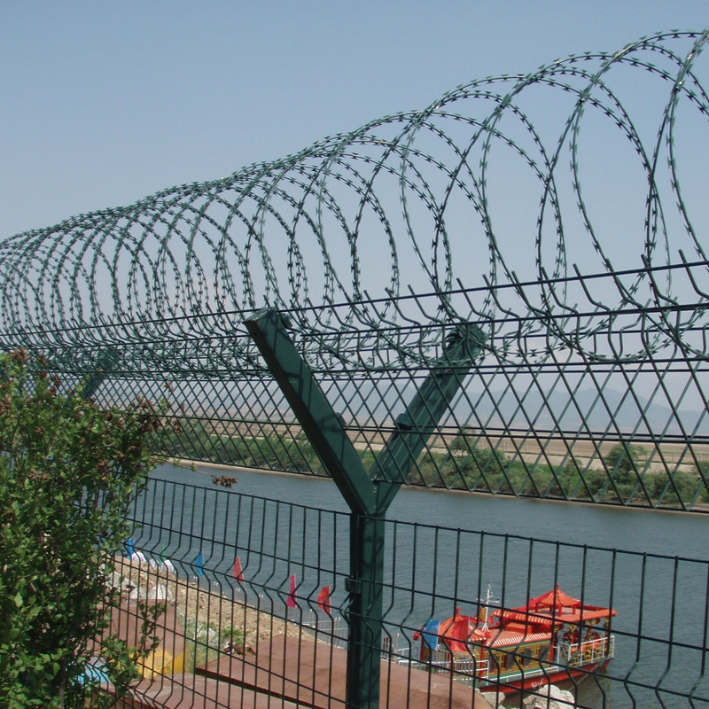 Powder Coated Welded Wire Mesh Fence Panels, Powder Coated Welded ...