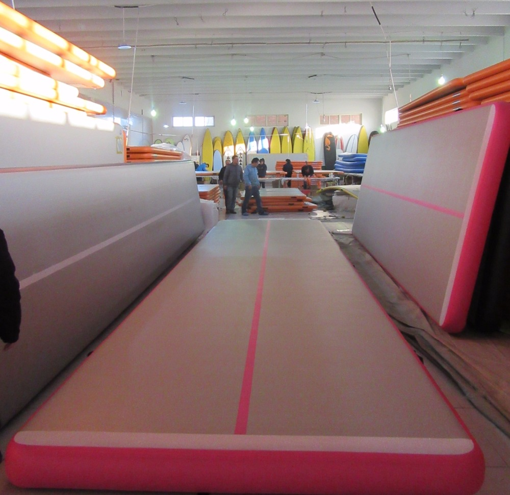 Airtrack blow up small tumbling mat tumbl trak prices
