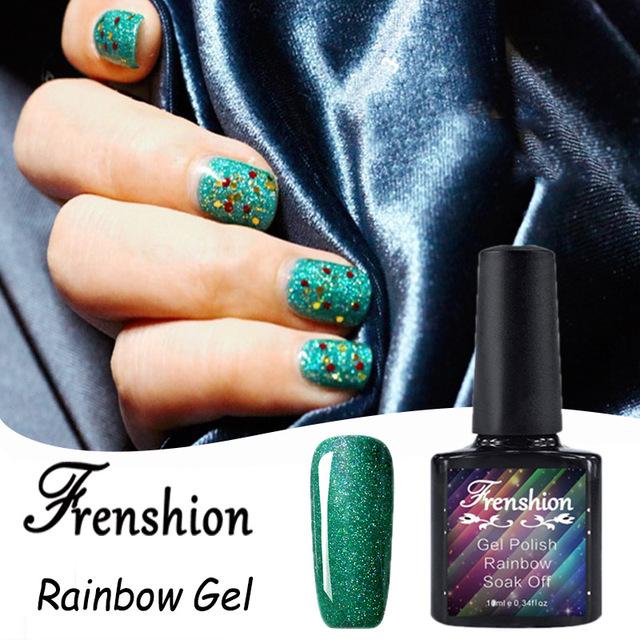 rainbow glitter gel polish-Source quality rainbow glitter gel polish ...