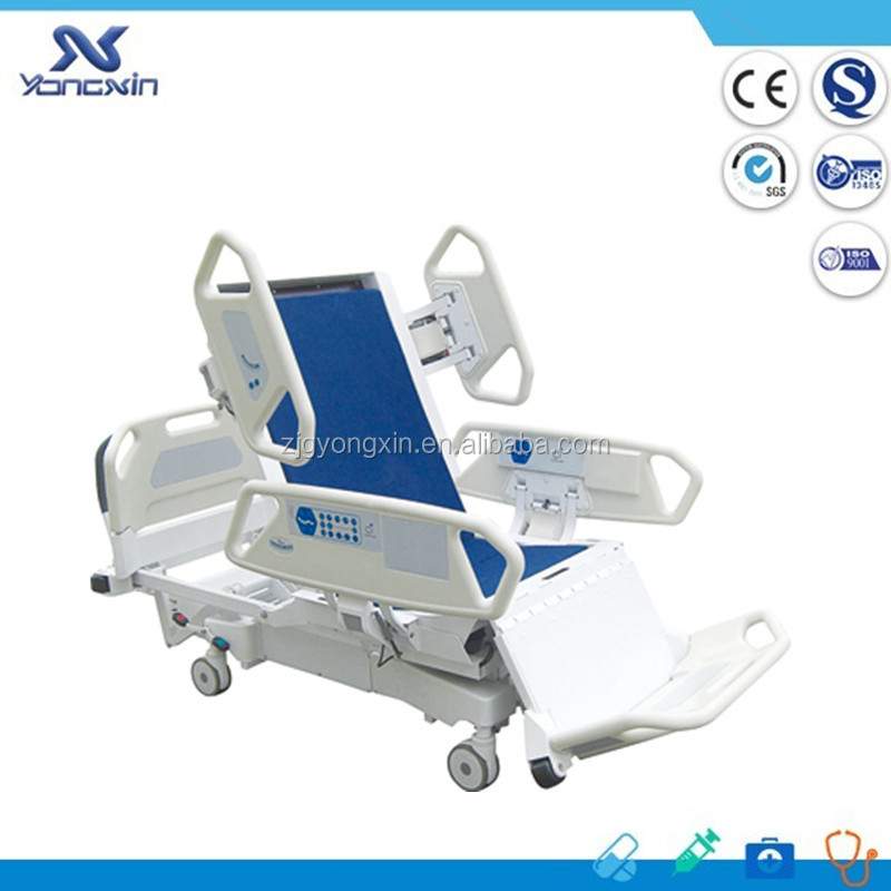 YXZ-C801 Hospital equipment 8 Function Electric Hospital ICU Bed