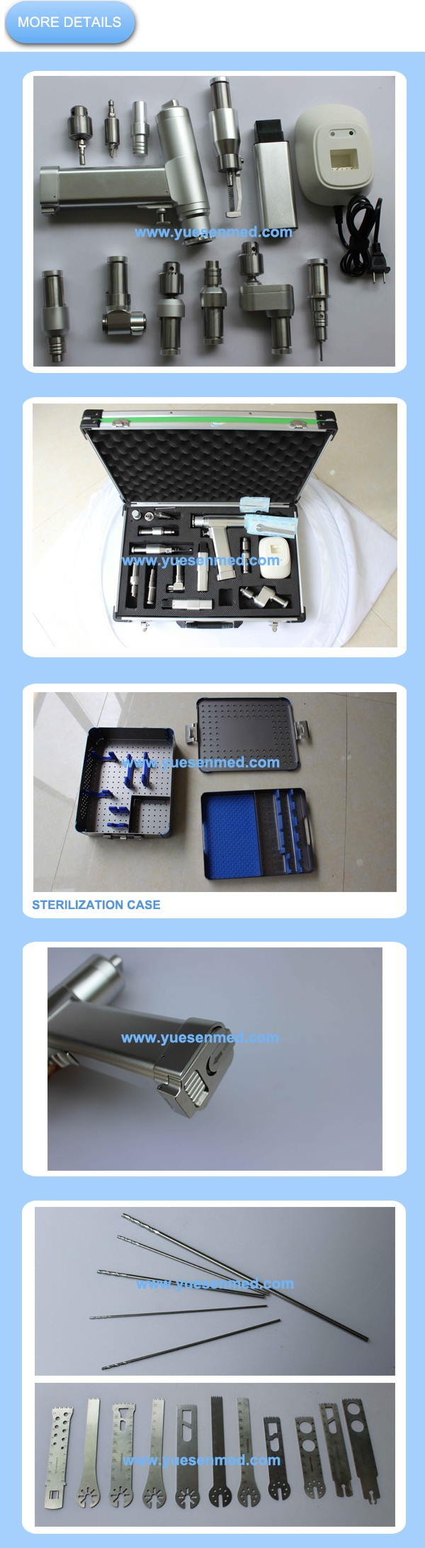 2016 medical drill orthopedic surgery instruments