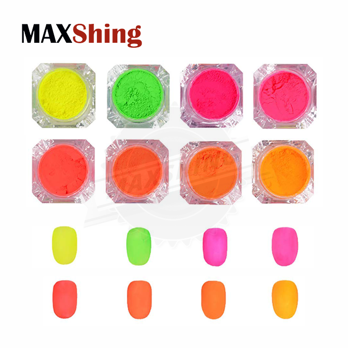 Fluorescent phosphor powder orange fluorescent pigment for nails