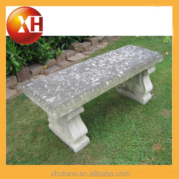 Natural stone butterfly garden bench for outdorr furniture