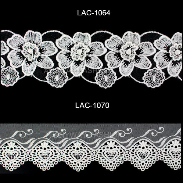 Cotton Ladder Lace Trim