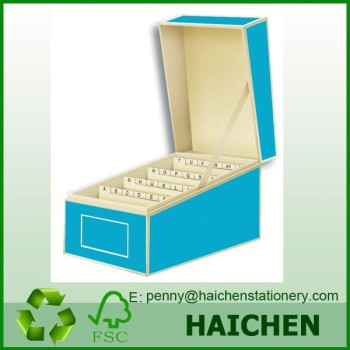 Assorted colour business card file box with dividers a to z buy assorted colour business card file box with dividers a to z reheart Choice Image