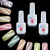 China Factory Wholesale 2017 Newest jade Cat Eye Colors Nail Gel Nail Polish