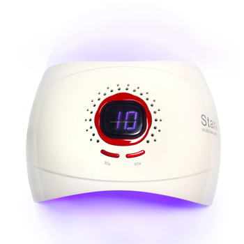 Chinese factory direct lcd display uv nail dryer lampara lamp 36 watt led special design star9 automatic manicure machine