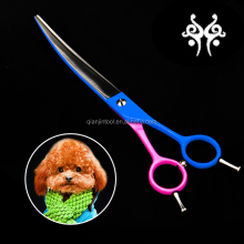 2016 New Supply Dog Curved Grooming Scissors for Pet Care Products