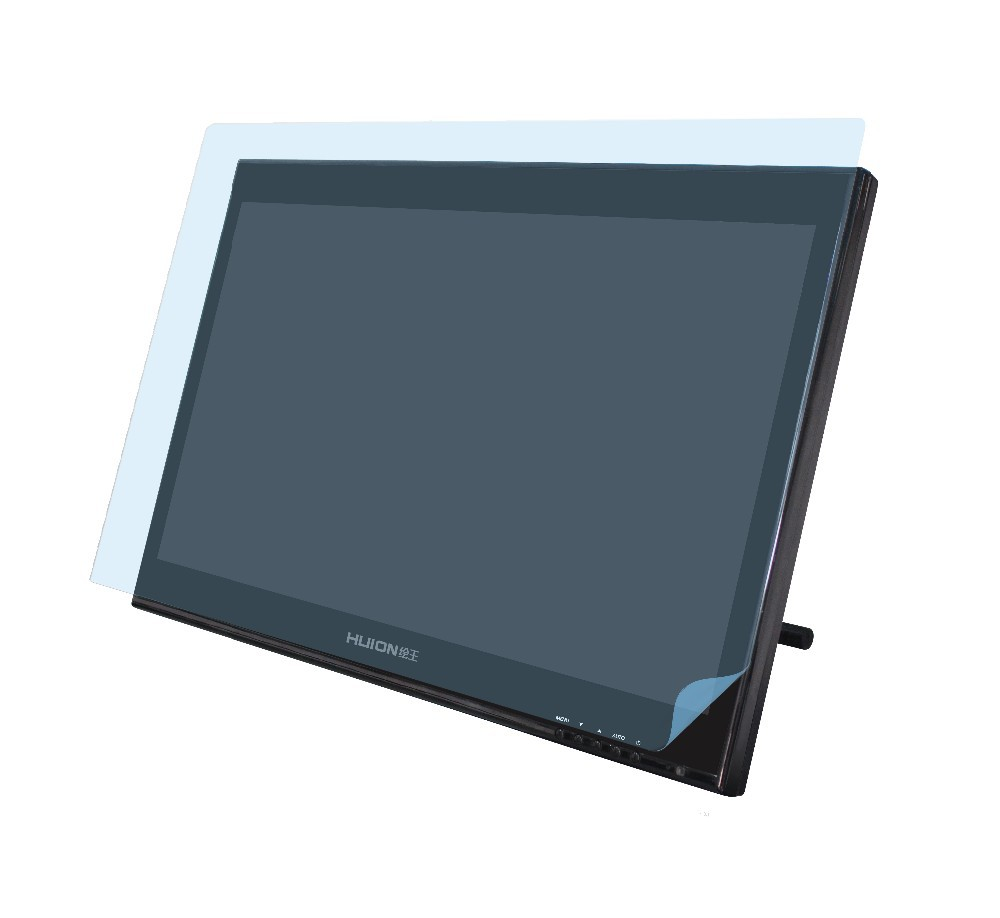 Wholesale-Huion GT-190 High Quality Screen Protector Graphics Monitor  Anti-glare Radiation Protection Scratch-retardant Screen Covers