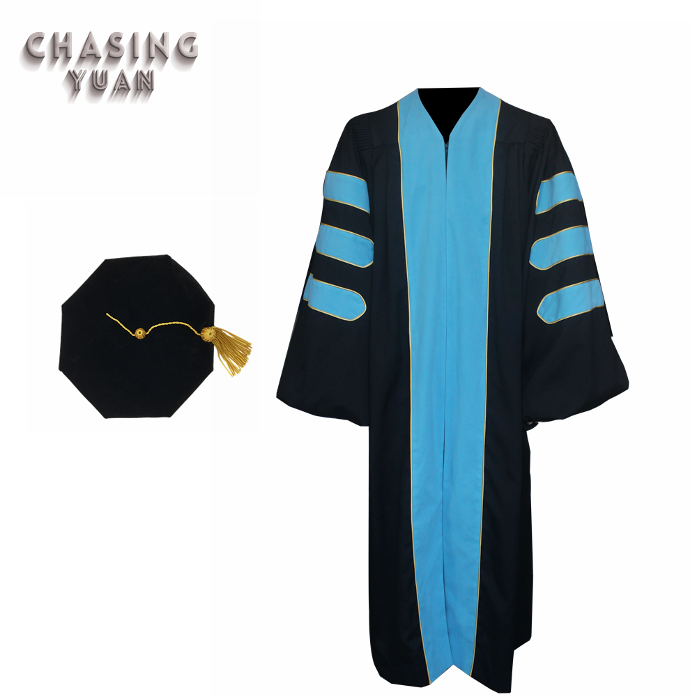 Doctoral Graduation Academic Gown และ Tam