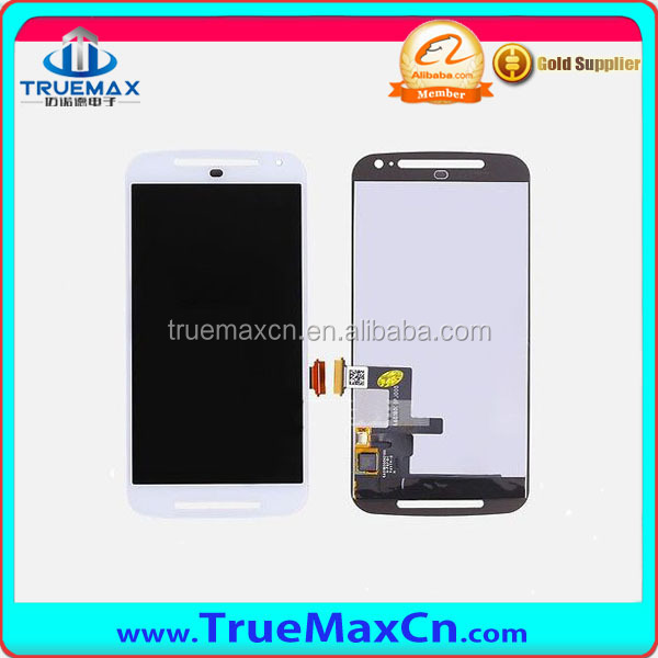 White And Black for Motorola Moto G 2nd Gen XT1063 LCD Screen Display Digitizer Touch Assembly