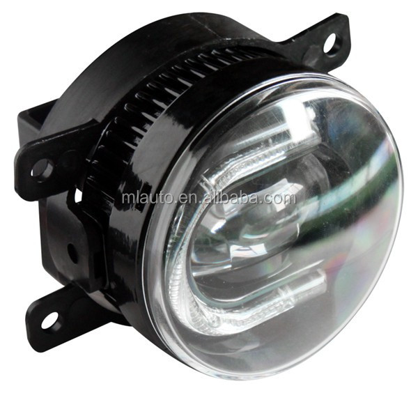 Milan Fog Lamp Lights Kit Combined with LED Daytime Running Light