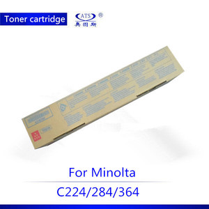 good quality TN321 Toner Cartridge for Konica minolta bizhub C224 C284 C364 CMYK copier spare parts