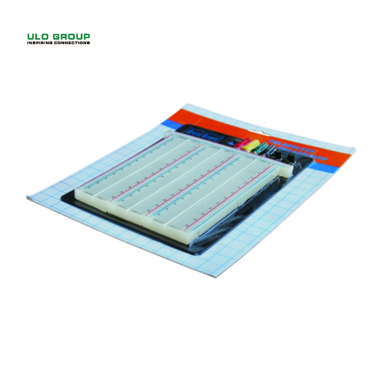 ULO mini lehimsiz elektronik entegre jumper tel ve breadboard kiti