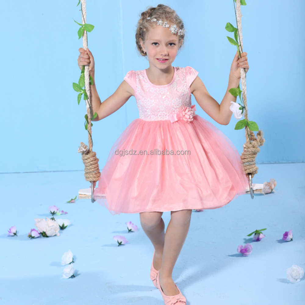 Venta caliente al por mayor de lujo vestidos de fiesta para niñas de ...