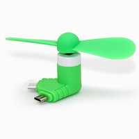 Hot selling 2 in 1 mini fan mini usb fan for iphone for Android customize logo are welcomed