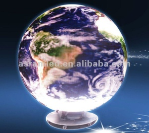 Magic shows LED ball display 360 degree, 360 degree led video display