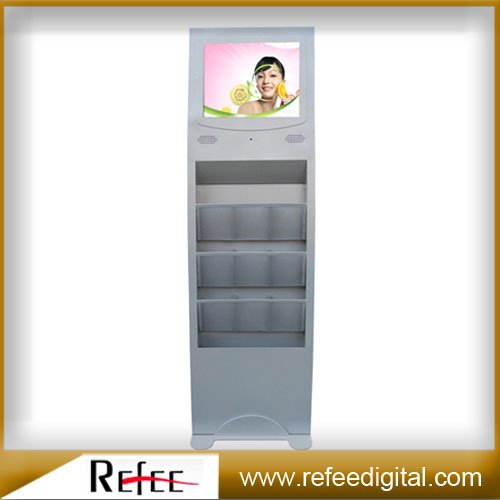 15 Inch Floor Standing LCD AD Display