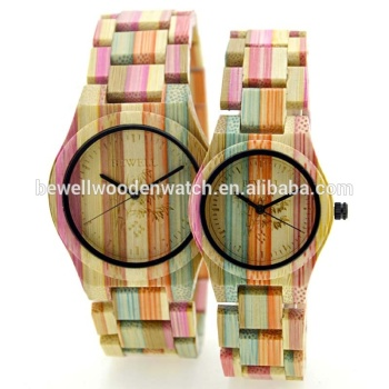 Newest Design Bamboo Watch Whole Best Gift Valentine Couple Watch With Luxury Wooden Gift Box Packaging Buy Valentine Couple Watch Gift Couple