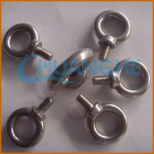 made in china heavy duty oval hook anchor eye type bolts