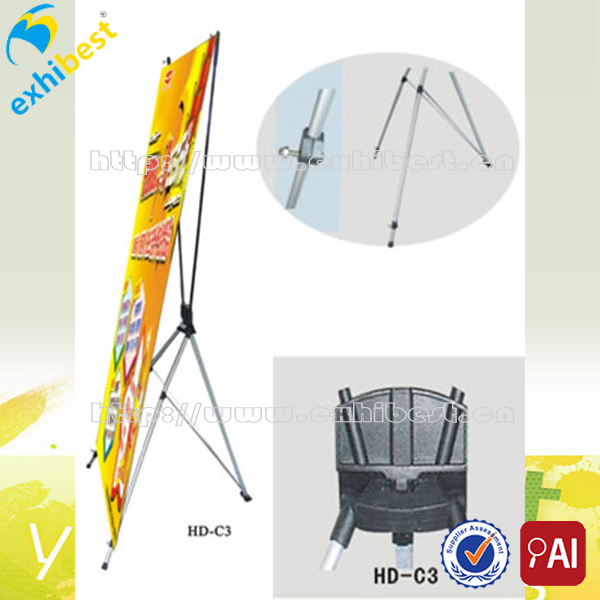 Top quality stable x banner x banner stand for tradeshow display