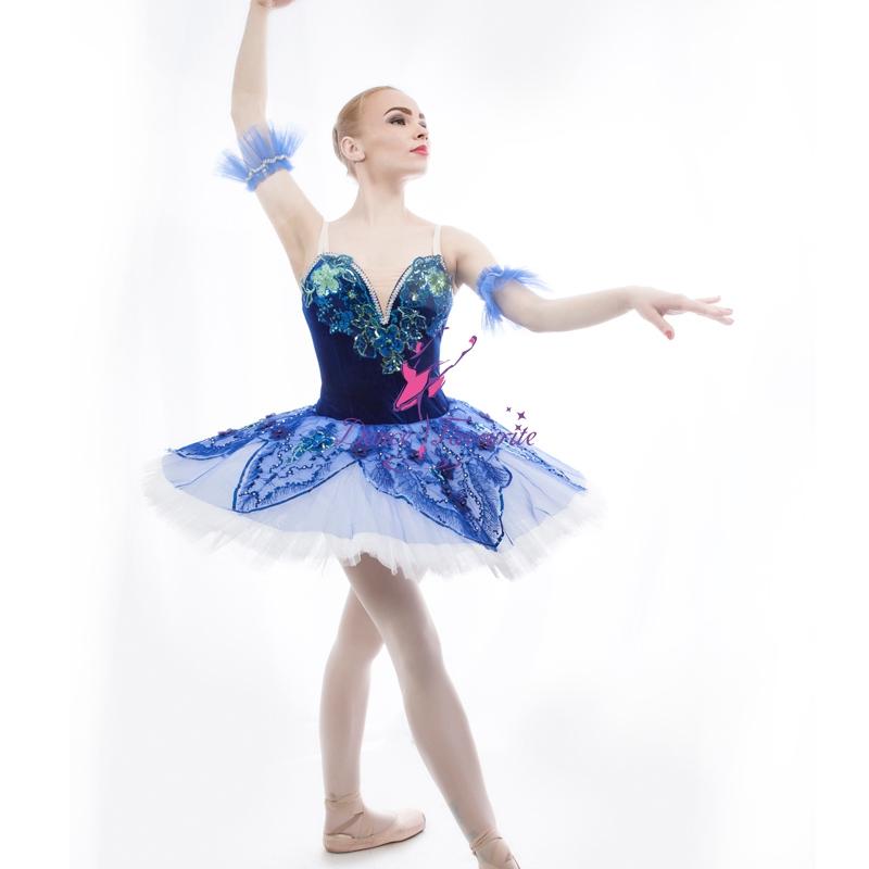 044956744612b Personnaliser Ballerine Spectacle de Danse Costume Oiseau Bleu et La Fille  du Pharaon Classique Tutu Robe