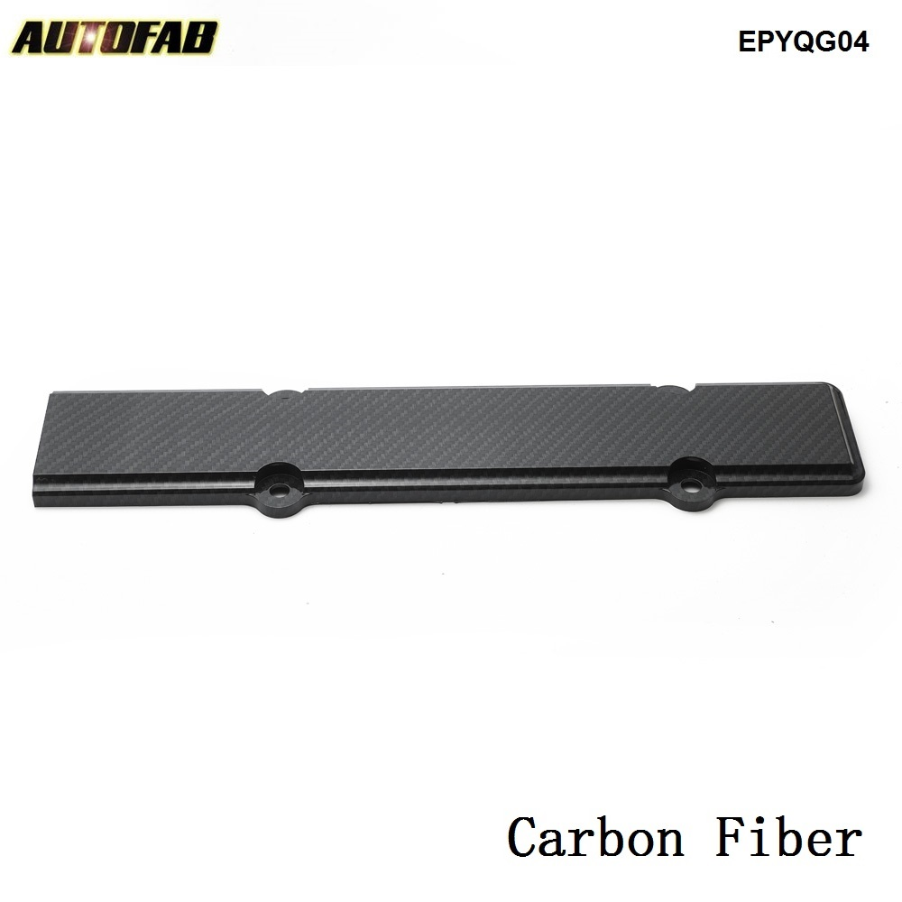 Carbon Fiber Engine Valve Cover Spark Plug Insert for Honda Civic B16 B18 B-Series