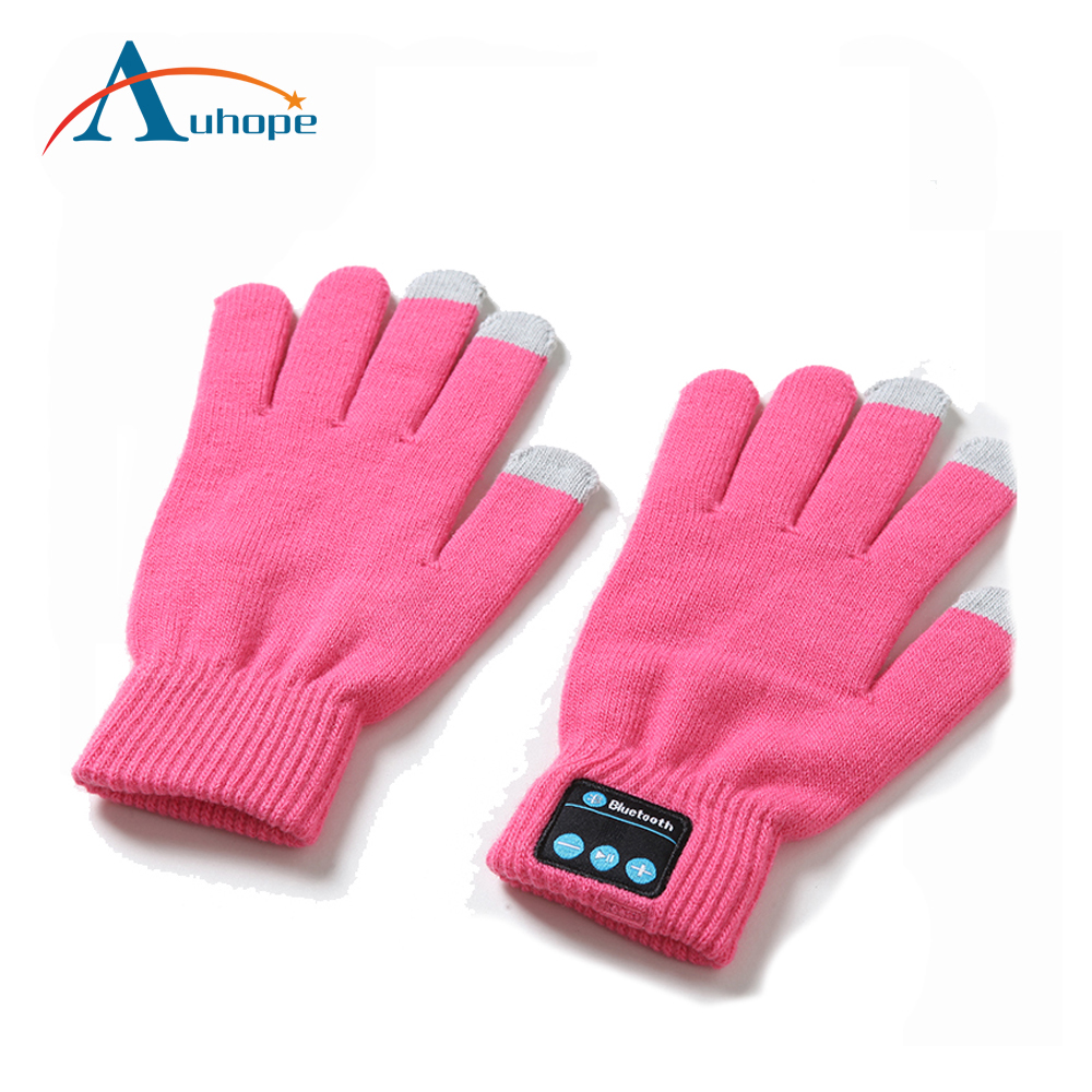 2017 Winter Women/Men Touch Screen Gloves For Smart Phone Tablet Gloves Bluetooth Black
