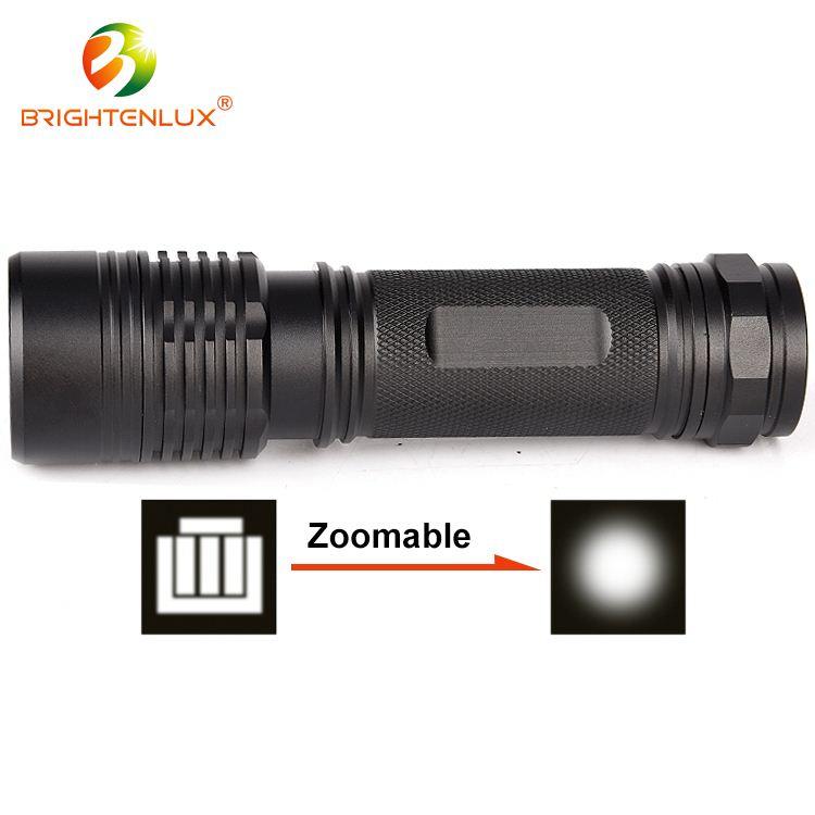 Harga yang kompetitif IP44 Aluminium led flashlight torch