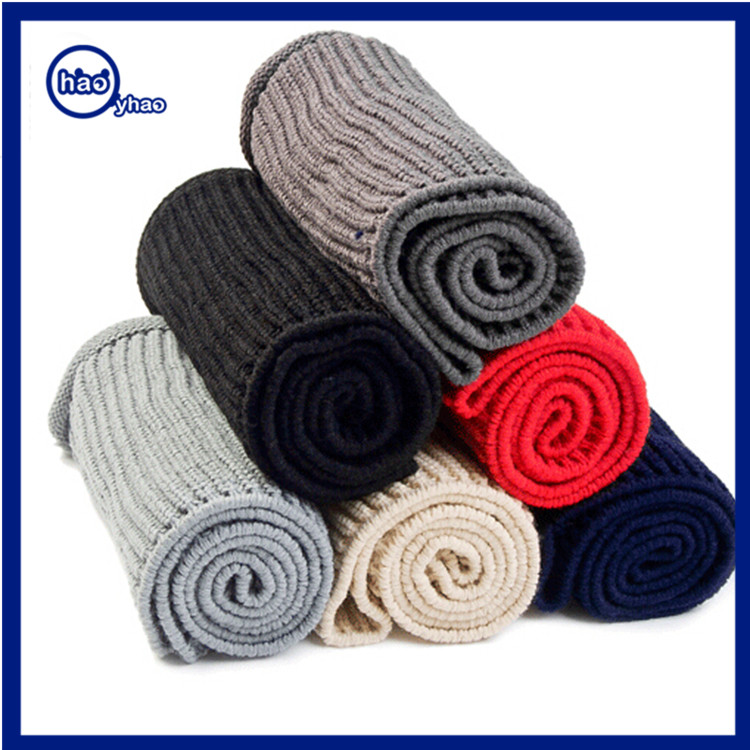 Yhao Thick Knit Winter Infinity Circle Loop Scarf