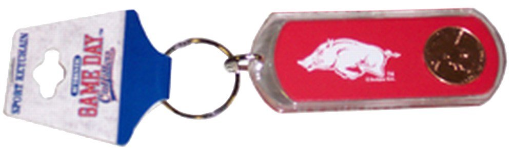 NCAA Wisconsin Badgers Lucite Lucky Penny Keychain
