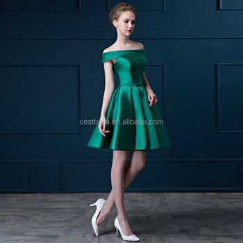 Red Cocktail Dresses Green