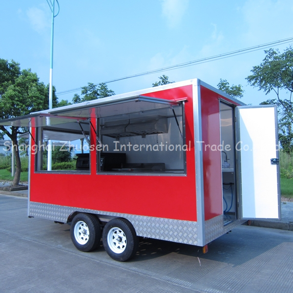 2015 Food Truck Manufacturers Chinese Food Truck Food