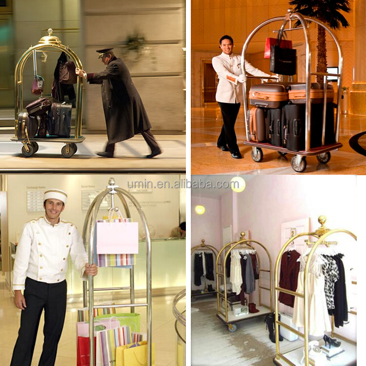 Bellhop Luggage Cart For Hotel Buy Luggage Cart For