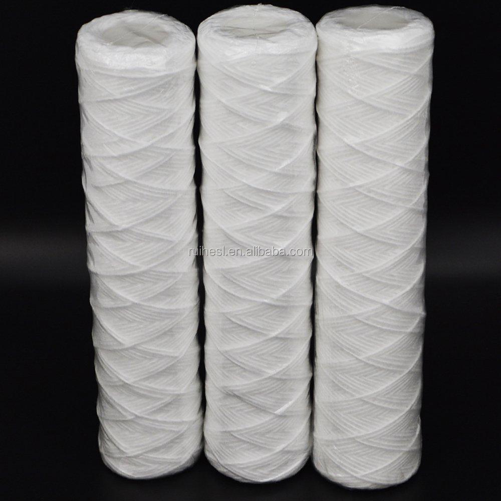 """osmosi inversa RO filtro acqua 3 x 100 Micron Sedimenti Filtro String-Wound 10/"""""""