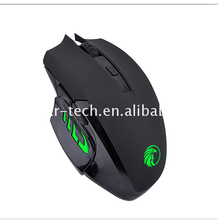 2017 Best price durable wired usb optical gaming mouse