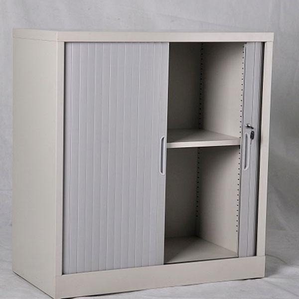 Ahorro de espacio material de PVC puertas de persiana para mueble de ...