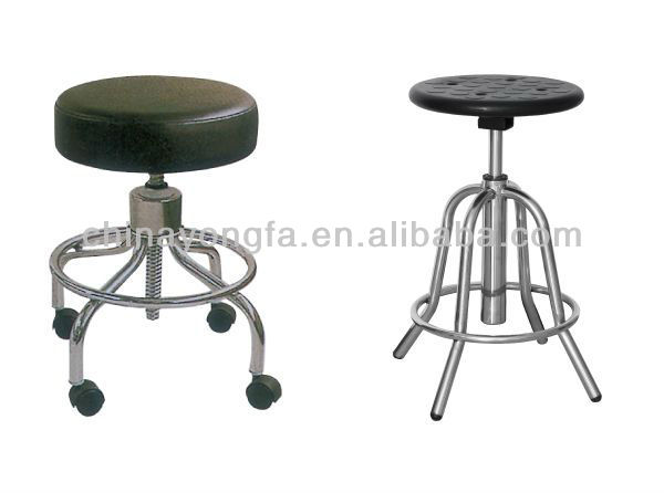 YF-HS-007(I)  Hospital Stainless Steel  Adjustable Nurse  Stool