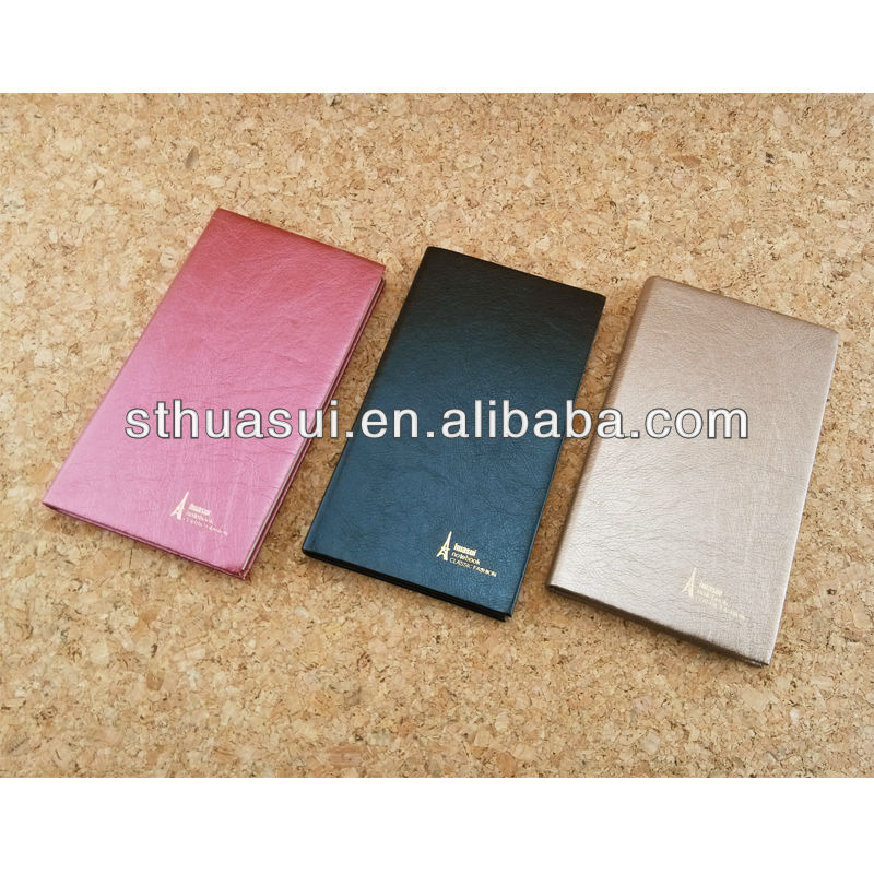 a6 promotional leather agendas