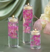 Wholesale glass holder , clear cylinder glass vase for decoration