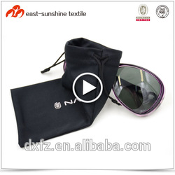 Custom simple style screen printing logo eye glasses cleaning cloth