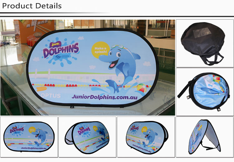 Frame banner double-sided print pop-up promotional banner A frame banner