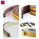 China factory directly sell custom self-adhesive half round rubber strip